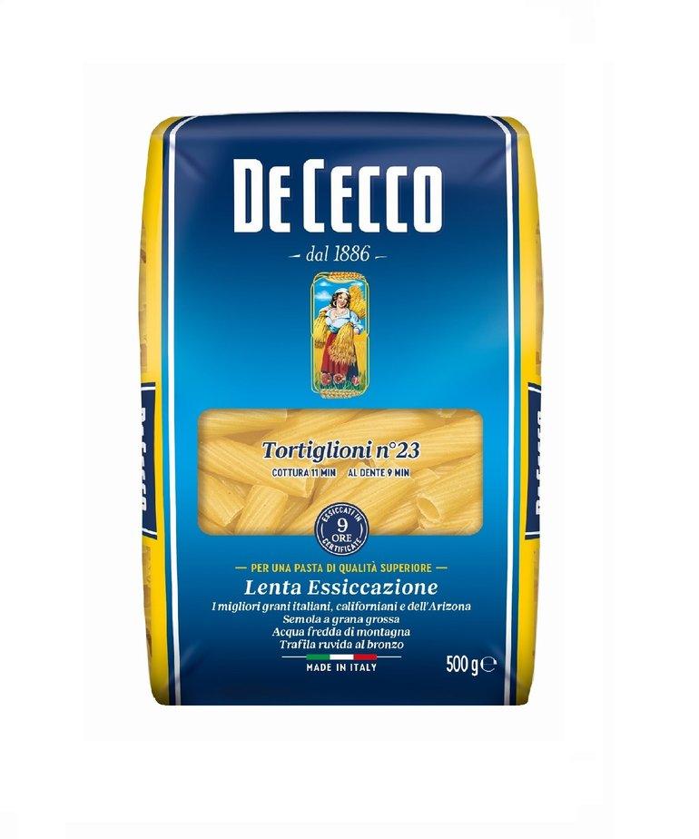 Tortiglioni pasta no.23 500g De Cecco