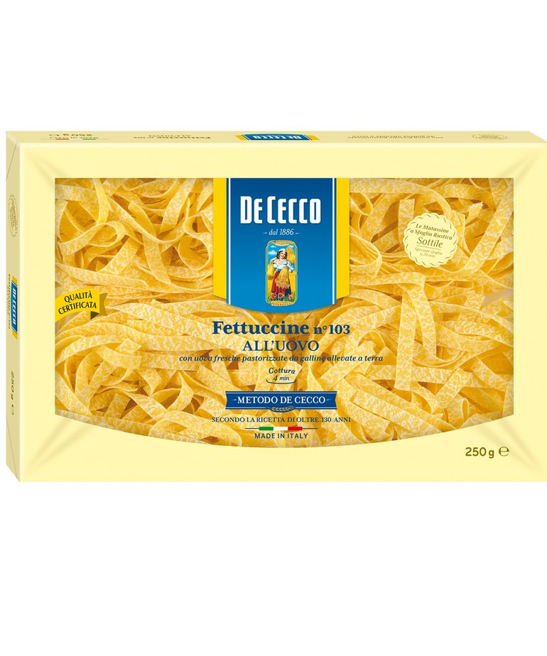 Fettuccine eierpasta no.103 250g De Cecco
