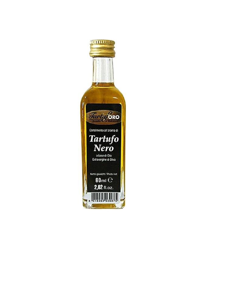 Olijfolie extra vergine zwarte truffel 60ml Tartuforo