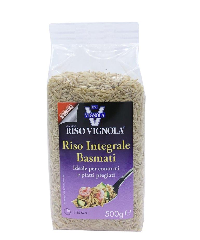 Rijst basmati volkoren 500g Riso Vignola