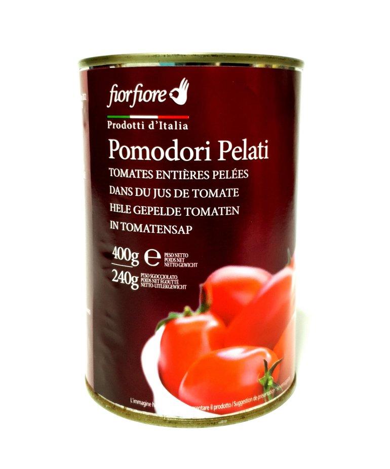 Gepelde tomaten (pelati) 400g FiorFiore