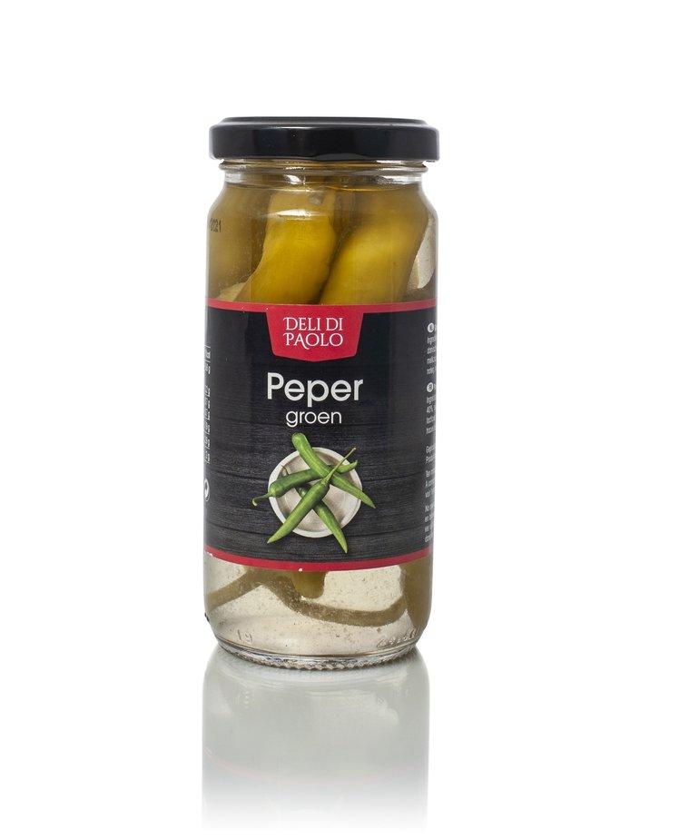 Deli Di Paolo Pepers groen 200g Deli di Paolo