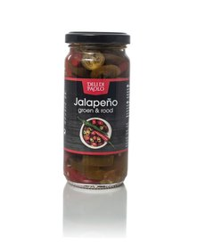 Deli Di Paolo Jalapeño peper rood & groen 250g (90100)