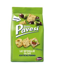 Gran Pavesi Crackers Sfoglie alle olive 160g (4429)