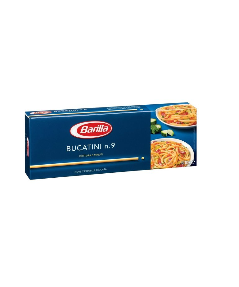 Barilla Bucatini no.9 (holle pasta) 500g Barilla