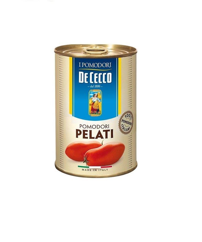 De Cecco Gepelde tomaten 400 g De Cecco