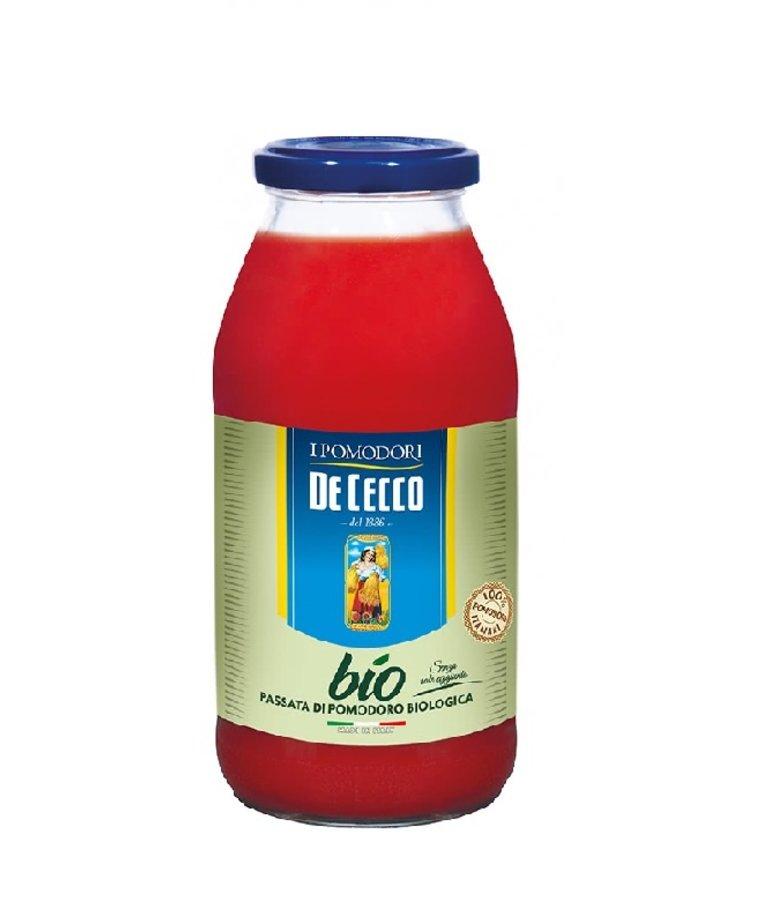 De Cecco Bio Passata Pomodoro 520g De Cecco