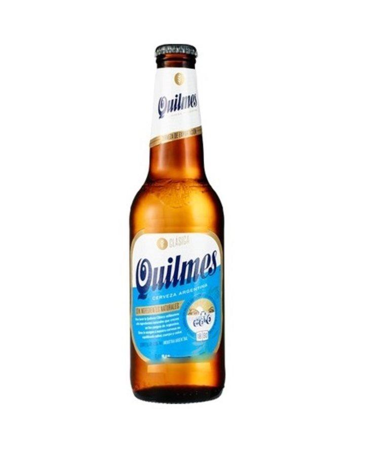 Quilmes Bier Quilmes 34cl (per doos/24 flesjes)