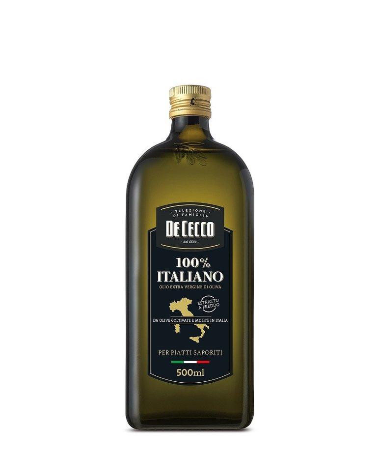 De Cecco Olijfolie extra vergine 100% Italiaans 500ml De Cecco