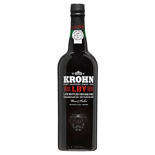 Wiese & Krohn Wiese & Krohn Port, LBV (Late Bottled Vintage) 2012
