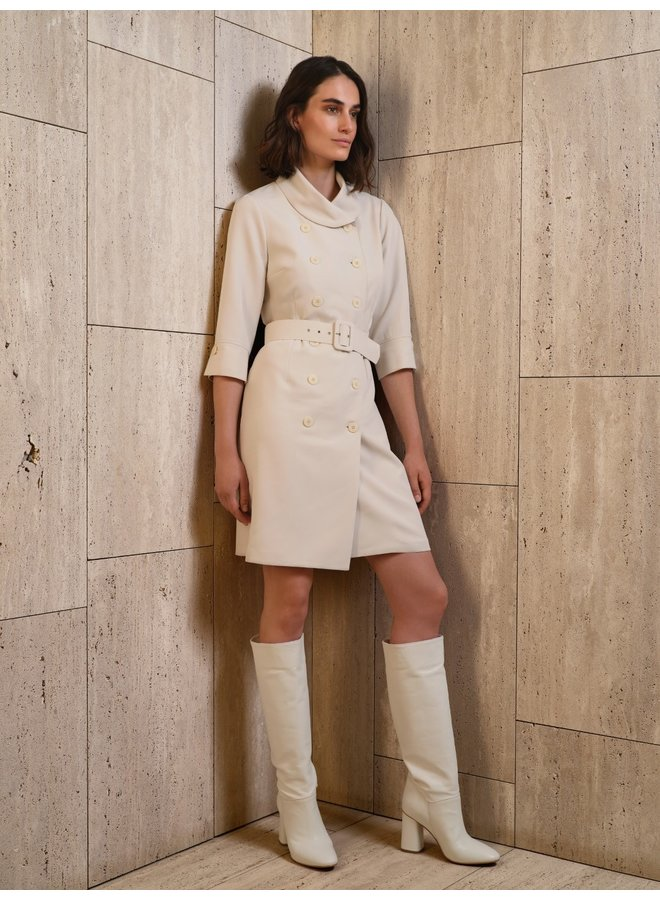 Olina white dress