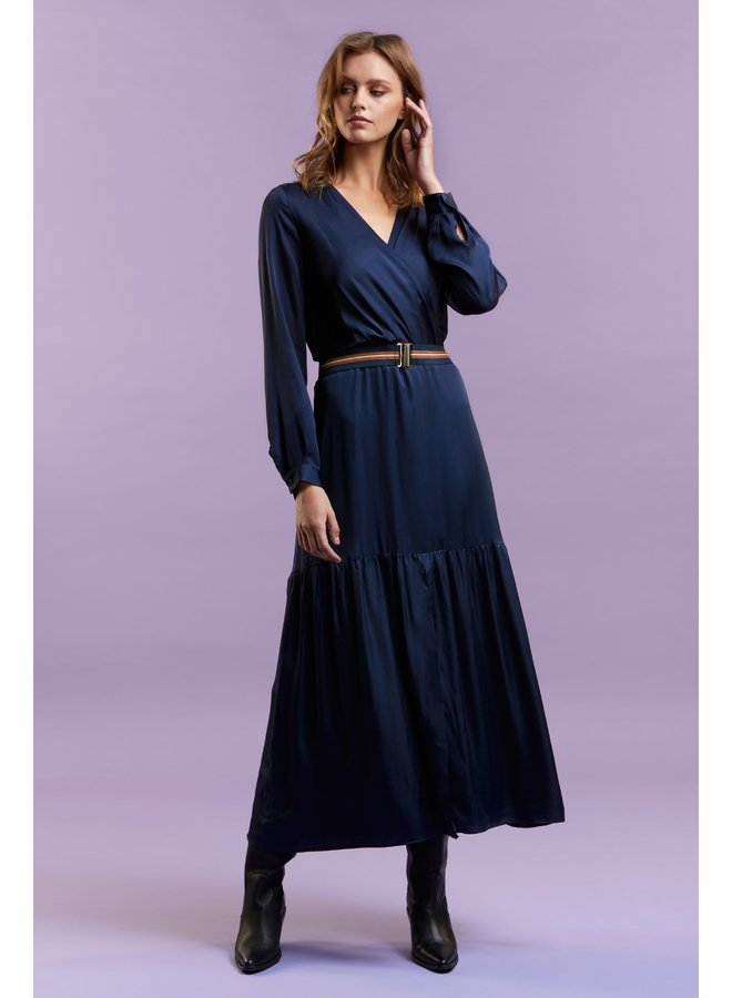Lyna navy dress