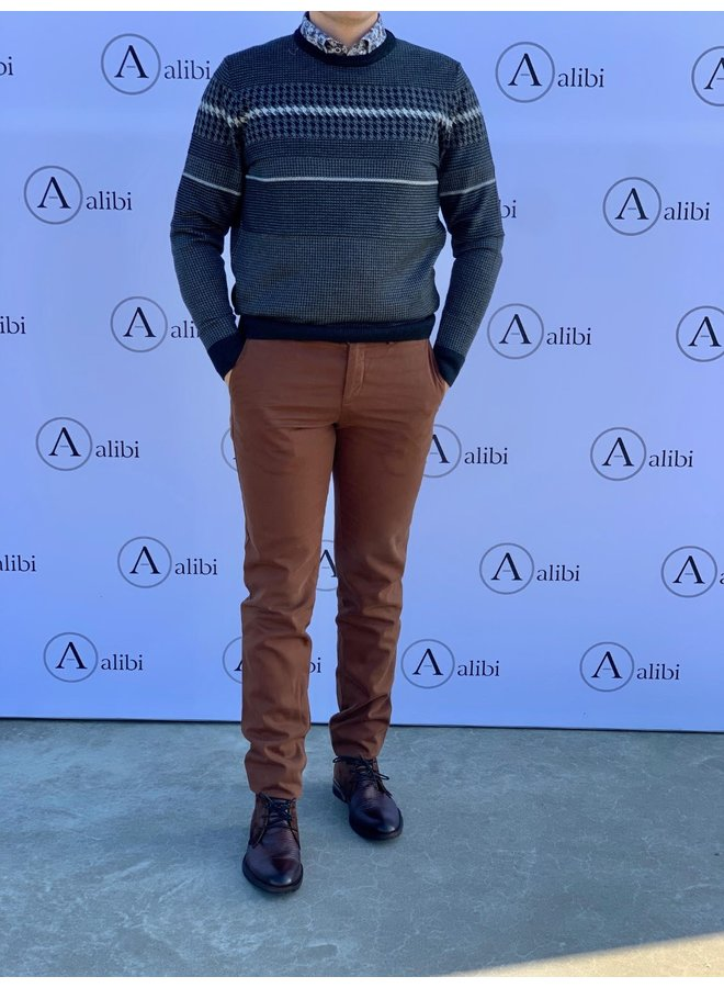 Zilton rust pants