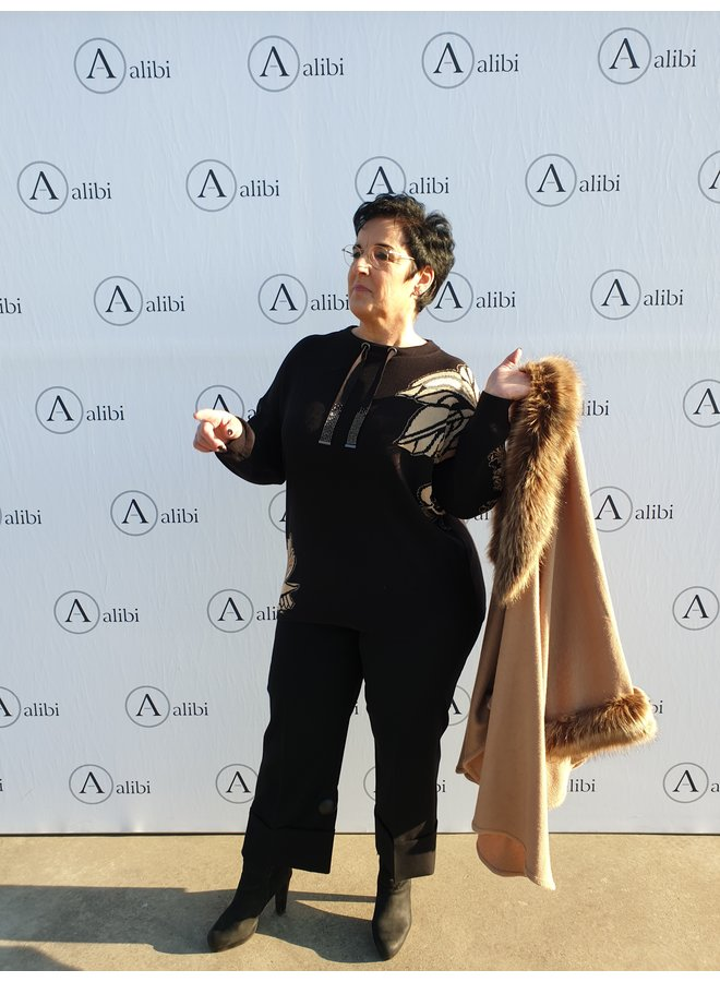 Rino & Pelle - cape/camel