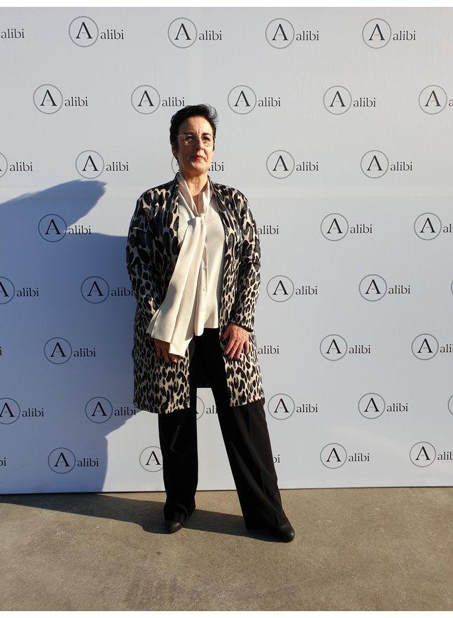 Luisa Cerano - blouse/ivoor