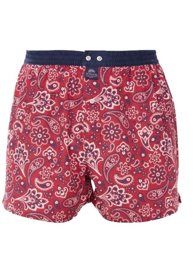 McAlson boxer rood
