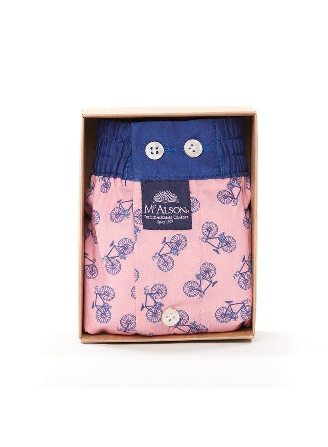 McAlson boxer roze/blauw