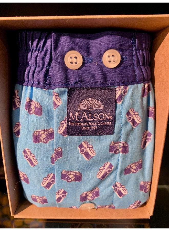 Mcalson boxer blauw