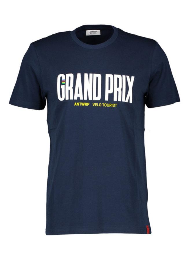 "Antwrp - navy t-shirt ""grand prix"""
