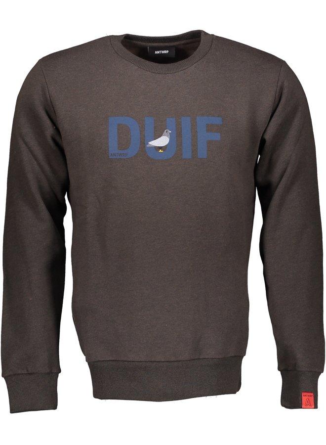 "Antwrp - bruine sweater ""duif"""