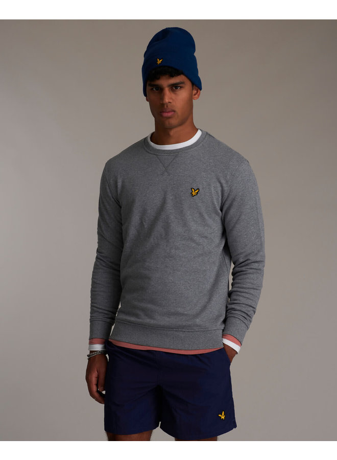 Lyle & Scott - Crew Neck Sweatshirt mid grey