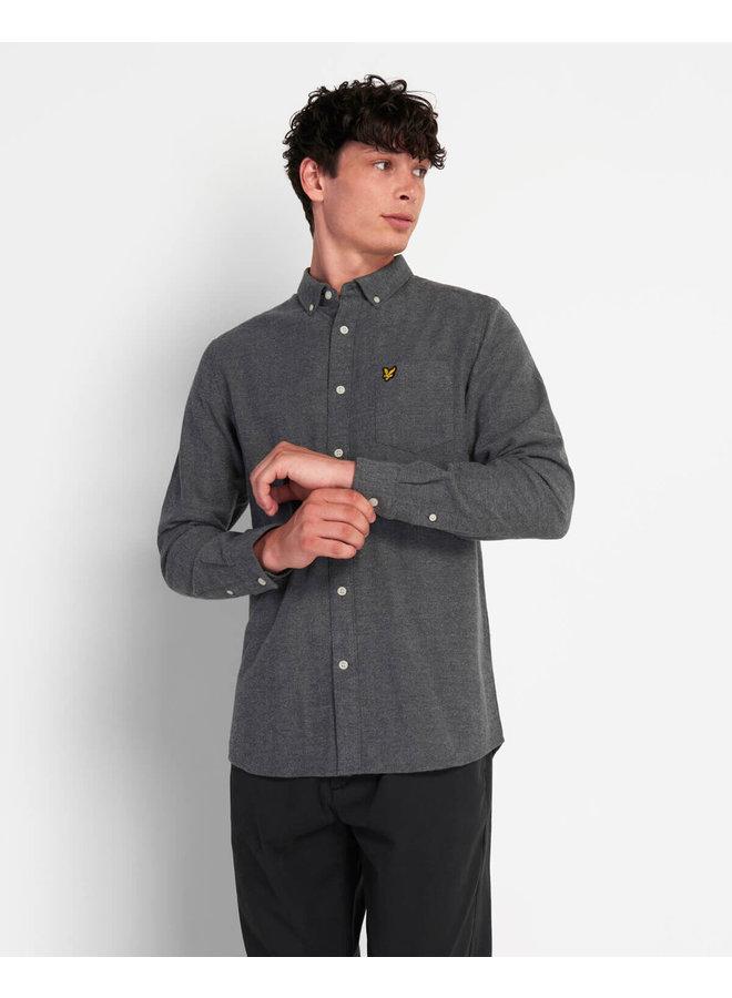 Lyle & Scott - Brushed Herringbone Shirt