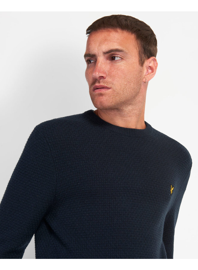 Lyle & Scott - Basket Weave Knitted Jumper