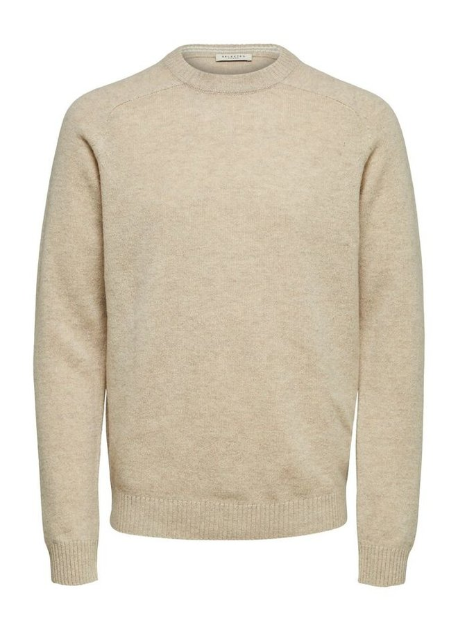 Selected - lamswollen sweater