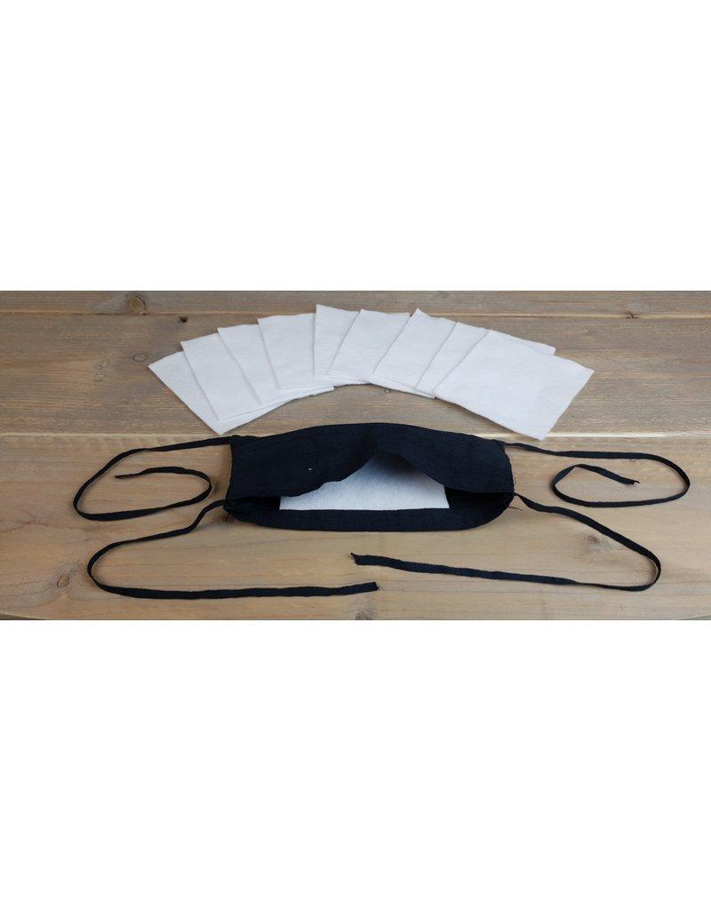 Change Hairstyling Mondkapje Zwart Uitwasbaar +10 wissel  filters 1st