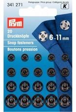 Prym Prym 341.271 - Aannaaidrukknopen Zwart