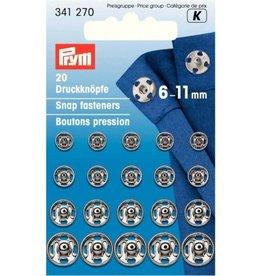 Prym Prym 341.270 - Aannaaidrukknopen zilver