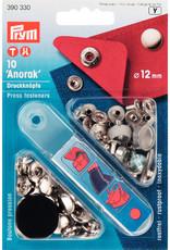 Prym Prym 390.330 - Anorak drukknopen - 12mm - Zilver