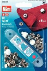 Prym Prym 390.360 - Mini drukknopen - 8mm - Zilver