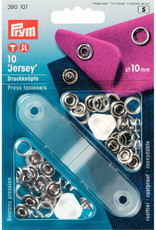 Prym Prym 390.107 - Jersey drukknopen - 10mm - Zilver