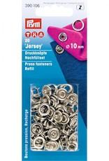 Prym 390.106 - Jersey drukknopen - 8mm - Zilver - Navulling