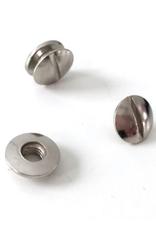 Boekschroeven - 10 stuks - Zilver