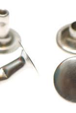 Holnieten 9mm - Nikkelkleurig - 10 stuks
