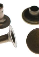 Holnieten 9mm - Brons - 10 stuks