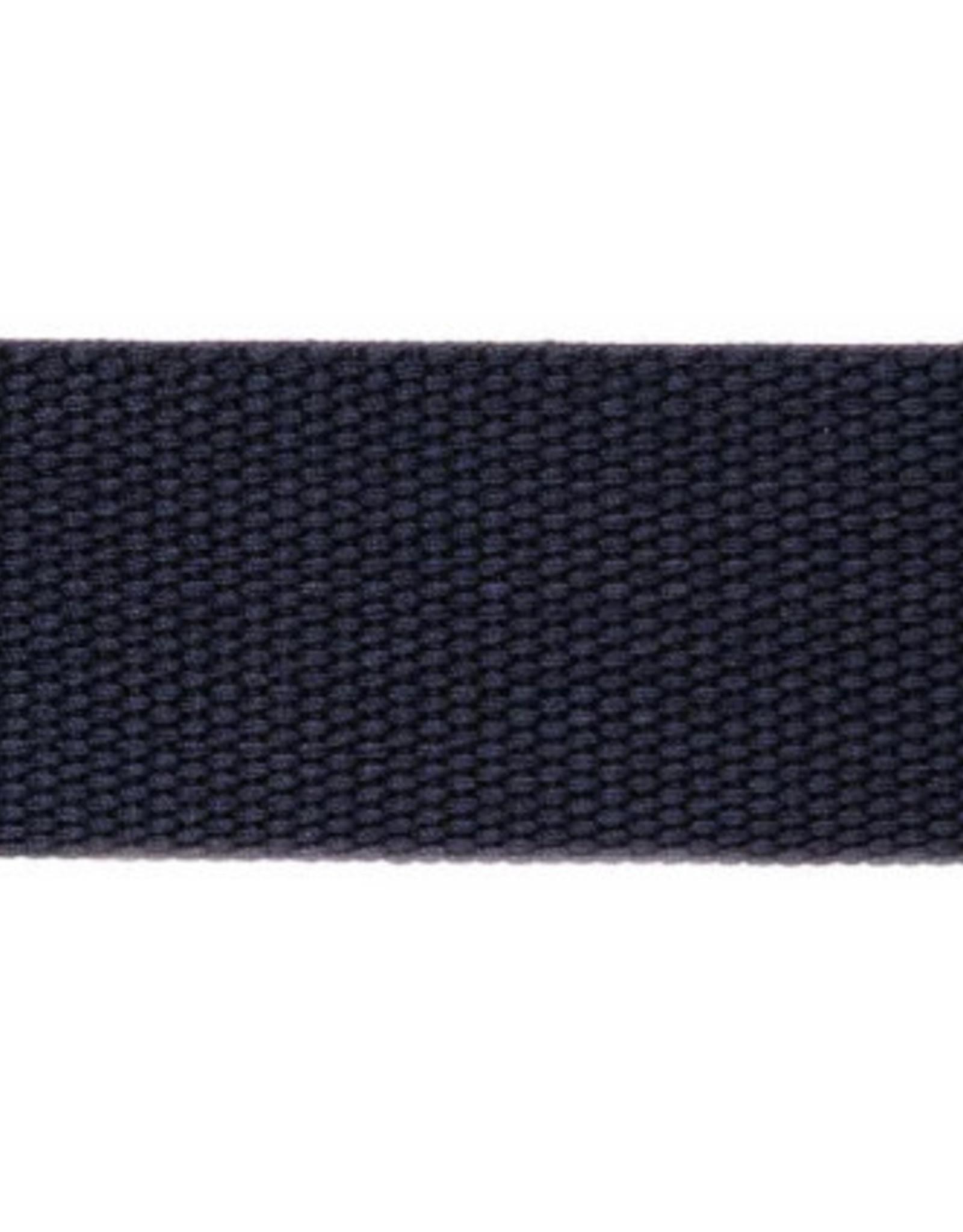 Rico Design Tassenband - Marineblauw - 40mm - 2m