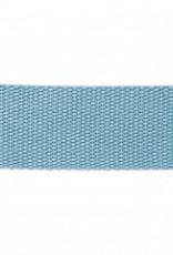 Rico Design Tassenband - Smokey Blue - 40mm - 2m