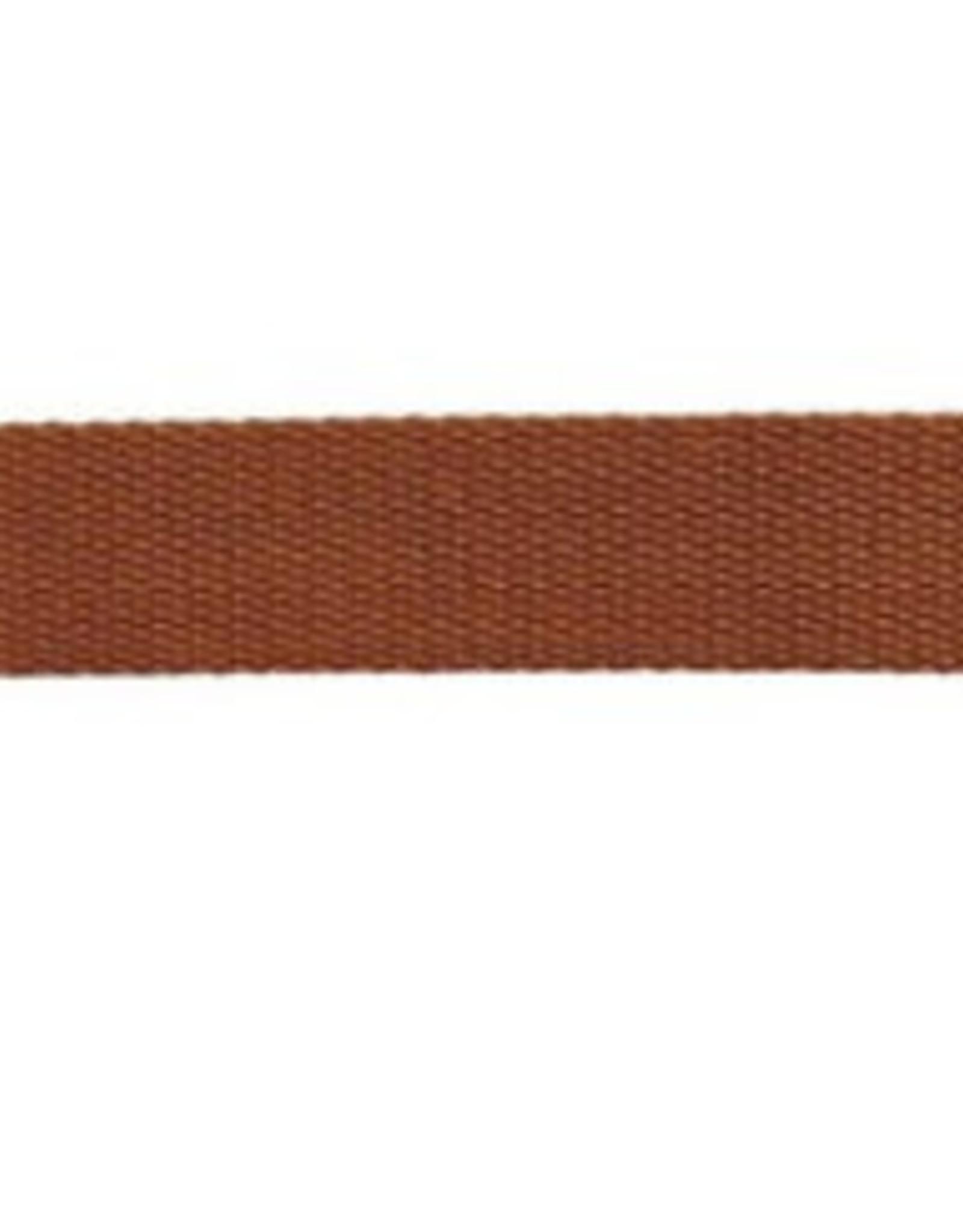 Rico Design Tassenband - Marron - 25mm - 2m