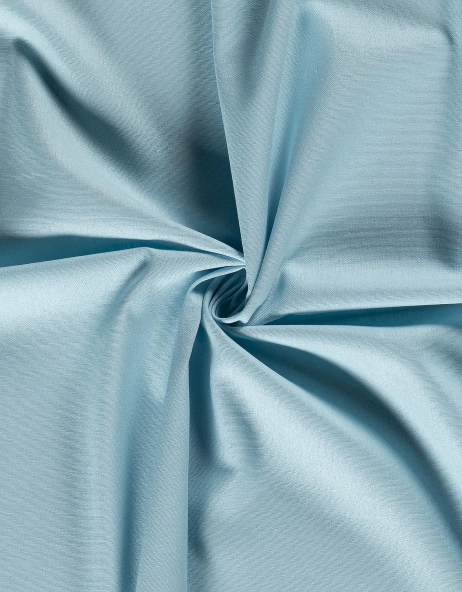 Viscose-linnen - Zachtblauw