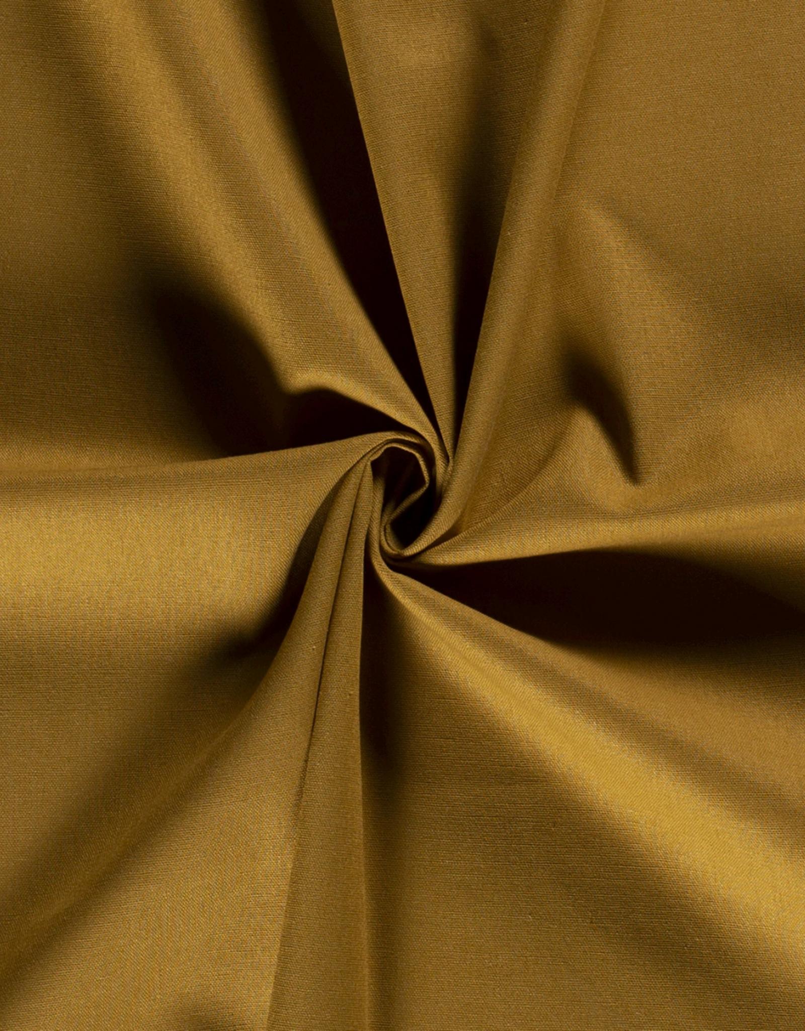 Viscose-linnen - Mustard