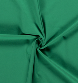 Katoentricot - Groen