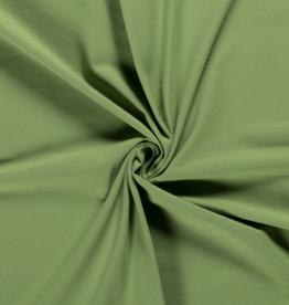 Katoentricot - Mat Groen