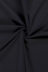 Katoentricot - Marineblauw