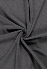 Katoentricot - Midi Grijs Gemeleerd