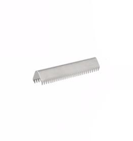 Eindje voor tassenband - 30mm - Zilver
