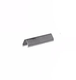 Eindje voor tassenband - 25mm - Gunmetal