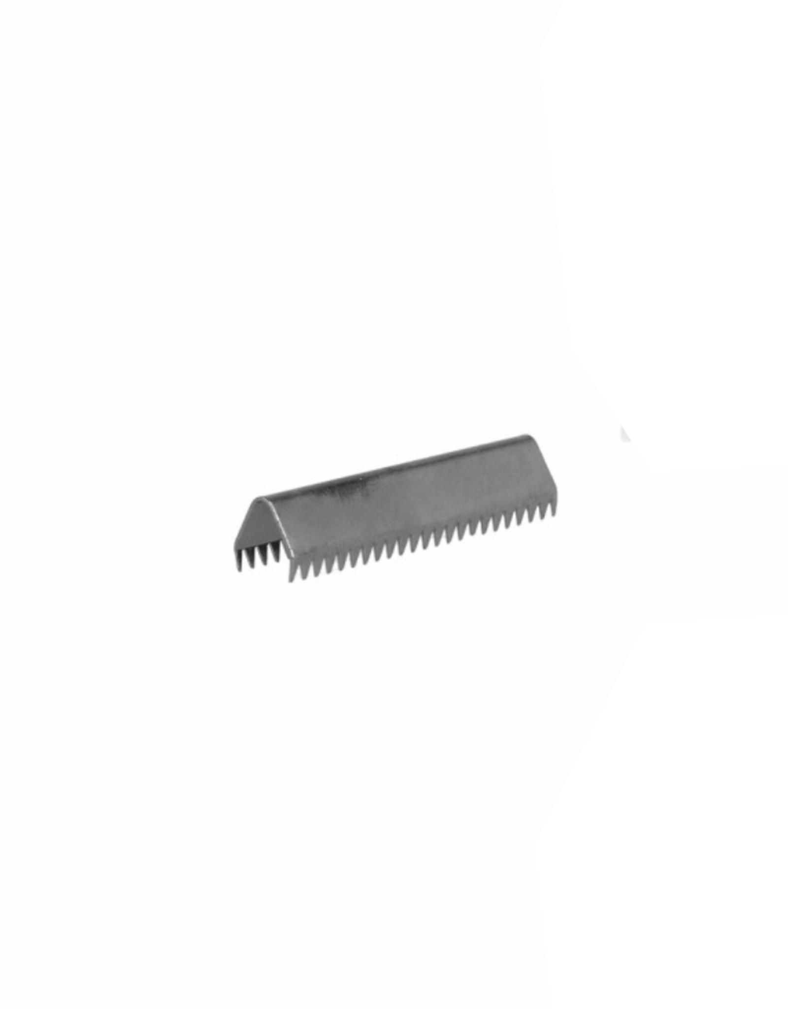 Eindje voor tassenband - 30mm - Gunmetal